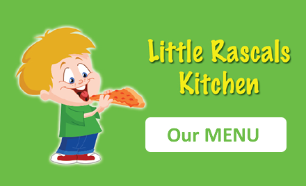 Food Menu at Little Rascals
